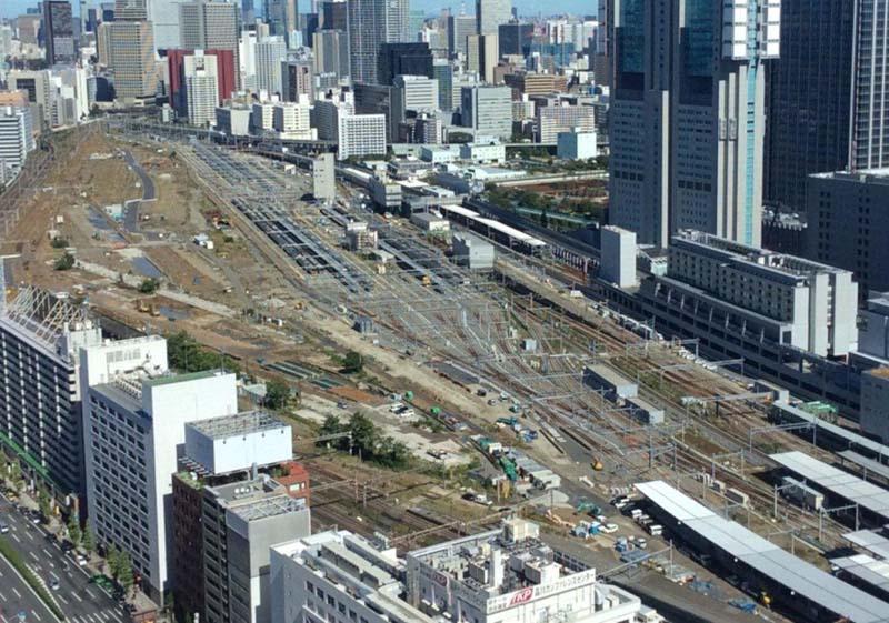品川駅工事