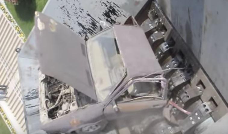 車 シュレッダー