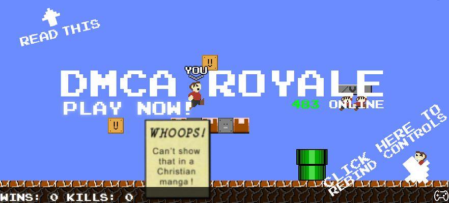 75人でマリオを同時プレイ!マリオロワイヤル(DMCA Royale)とは