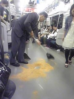 駅や街中でよく見かけるおが屑の正体とは