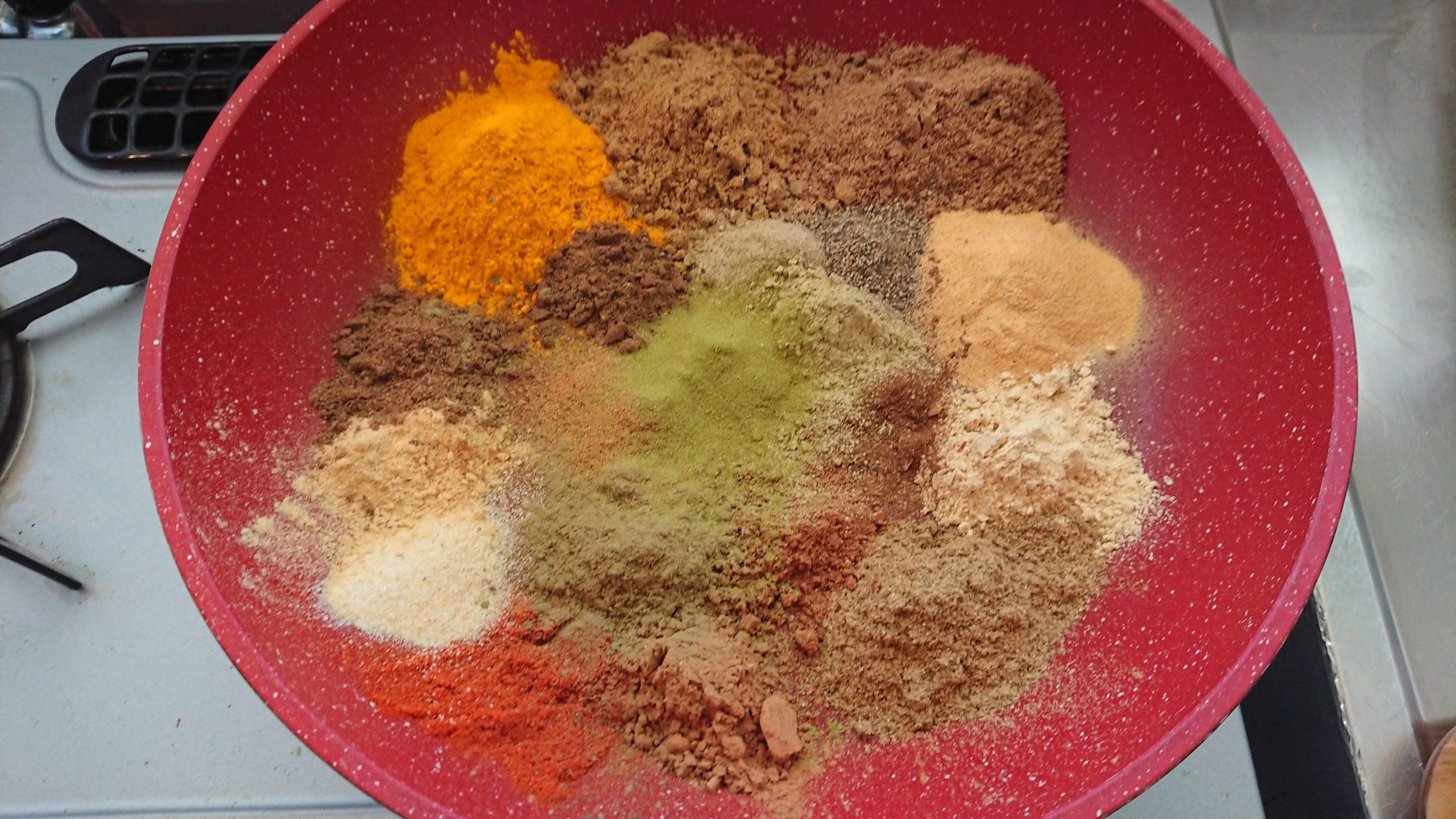 GABANのカレー粉セットでカレーをスパイスから作ってみる