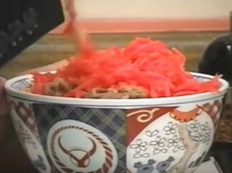 【紅ショウガ丼】牛丼に紅ショウガを入れすぎる人たちまとめ