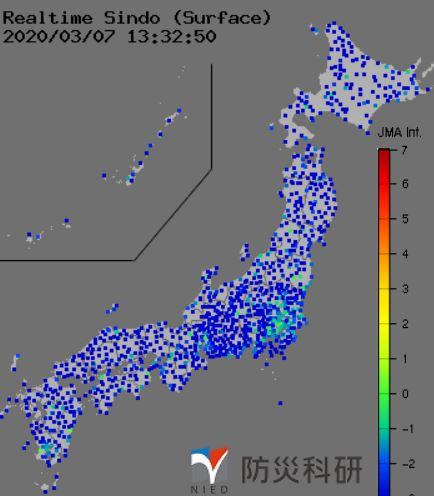 地震が起こった際に、真っ先に震源や震度を確認できるサイト「強振マップ」