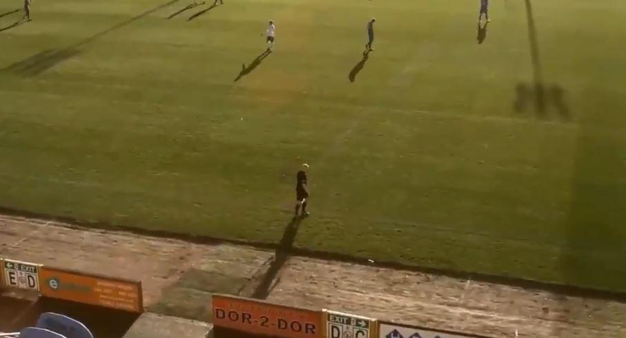 【動画】ボール自動検知のAIドローンでサッカー中継⇒ハゲをボールと勘違いし追尾してしまう