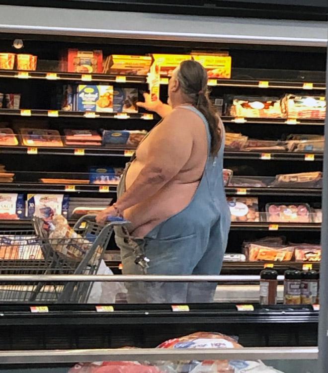 【驚異のデブ率】海外大手スーパー「walmart」に出現したヤバい奴まとめ